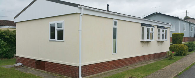 Exterior Ply Walls from SH Caravans