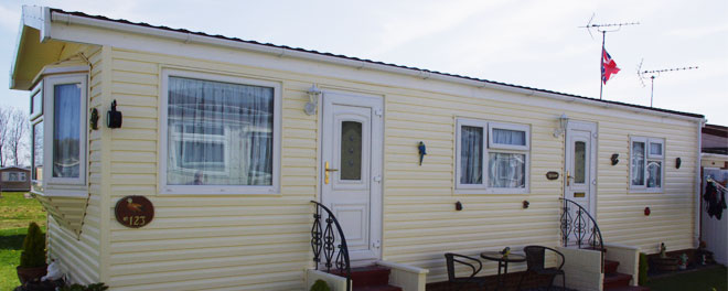 Reinforced Vinyl Cladding from SH Caravans